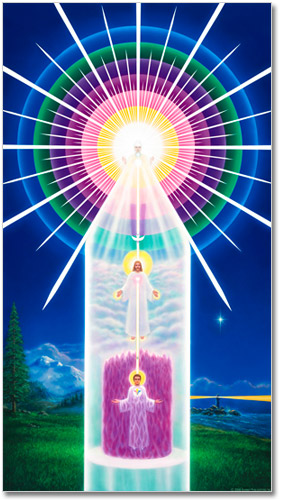 Chart of Your Divine Self -Christianity - Teachings of the Ascended Masters